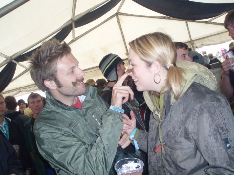 Me (left, obviously) with my Bon Jovi-loving wife at the Y Not Festival near Cromford, Derbyshire, in 2009