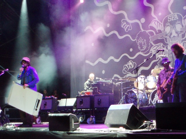 Super Furry Animals at Clumberfest, Clumber Park, 2009